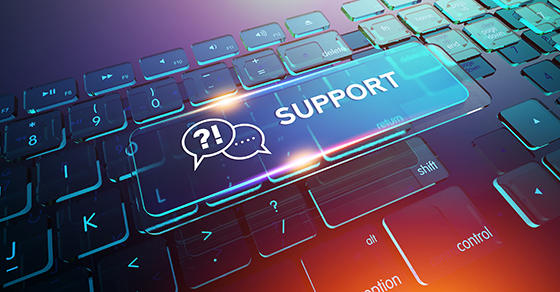 Providing optimal IT support for remote employees